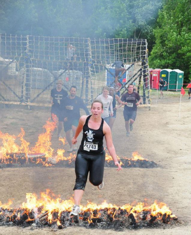 Spartan races, mud runs, and obstacle races are a fun way to change scenery.