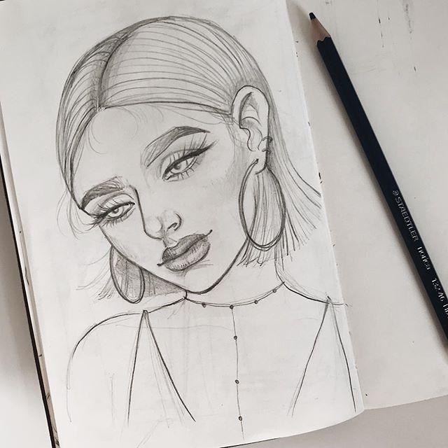 Collaboration boredom sketch with @tepingi 🙃💕