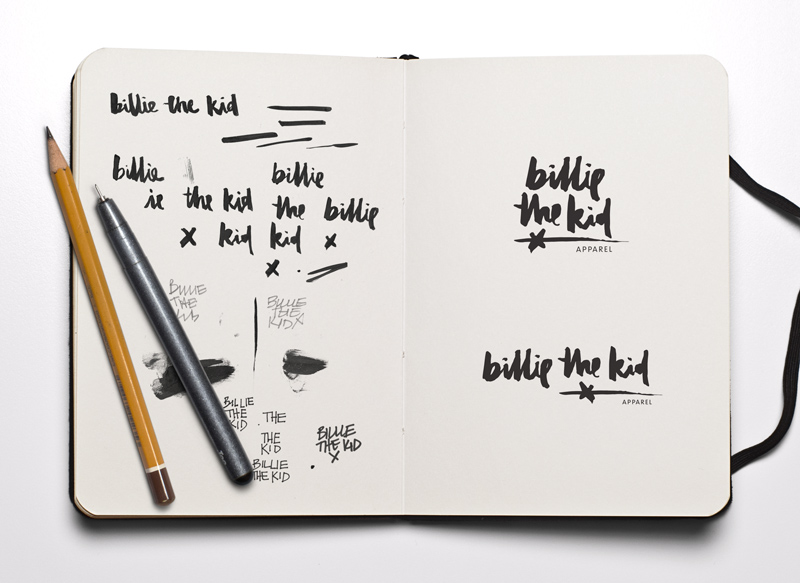 billie-the-kid-logo-design-by-kiss-the-sky