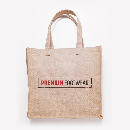 Premium Footwear Logo Design