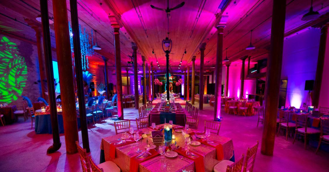 Milwaukee wedding and event lighting