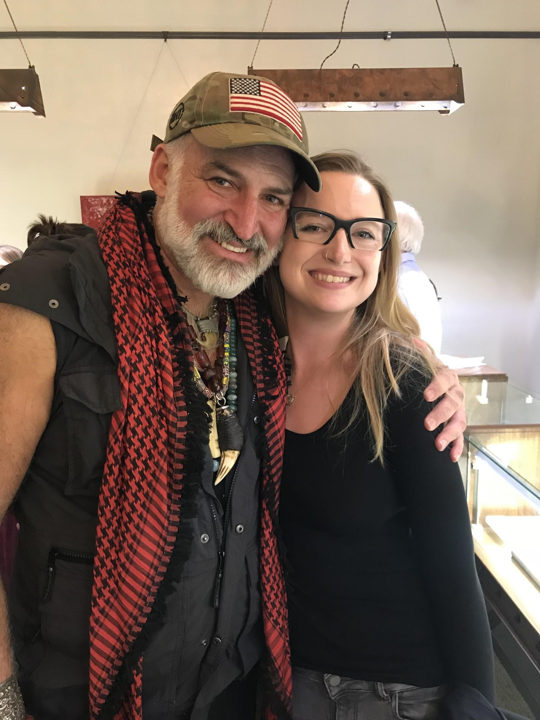 (Yianni Melas, the Gem Explorer and me)