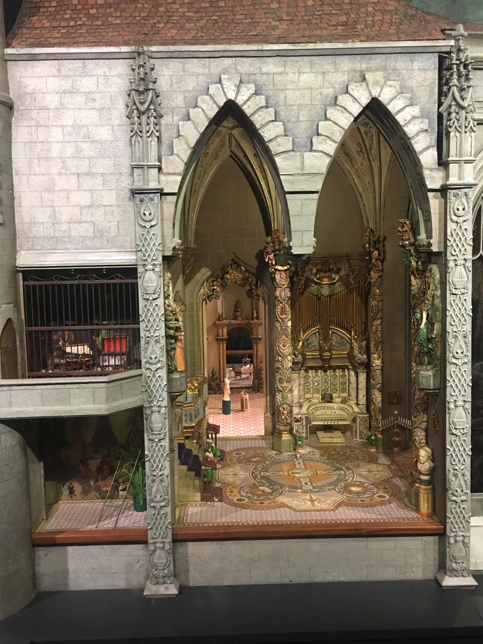 Organ room.