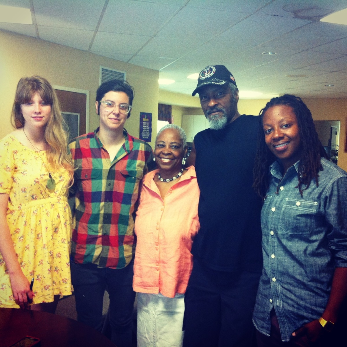 Capture Project Instructional Team: Charlie Watts, Andre Keichian, Rev Bessie Donaldson, Antar Dondalson, & Tabia Parker