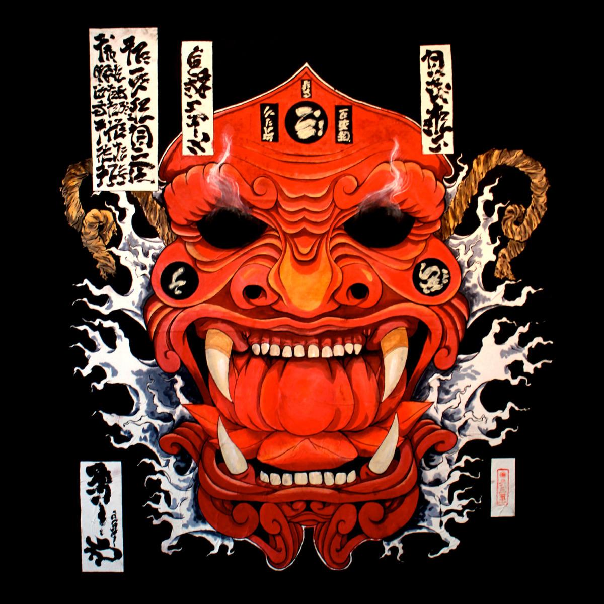 brandon sadler- shogun's assasin watercolor on rice paper mounter on panel-image courtesy of artist .jpg
