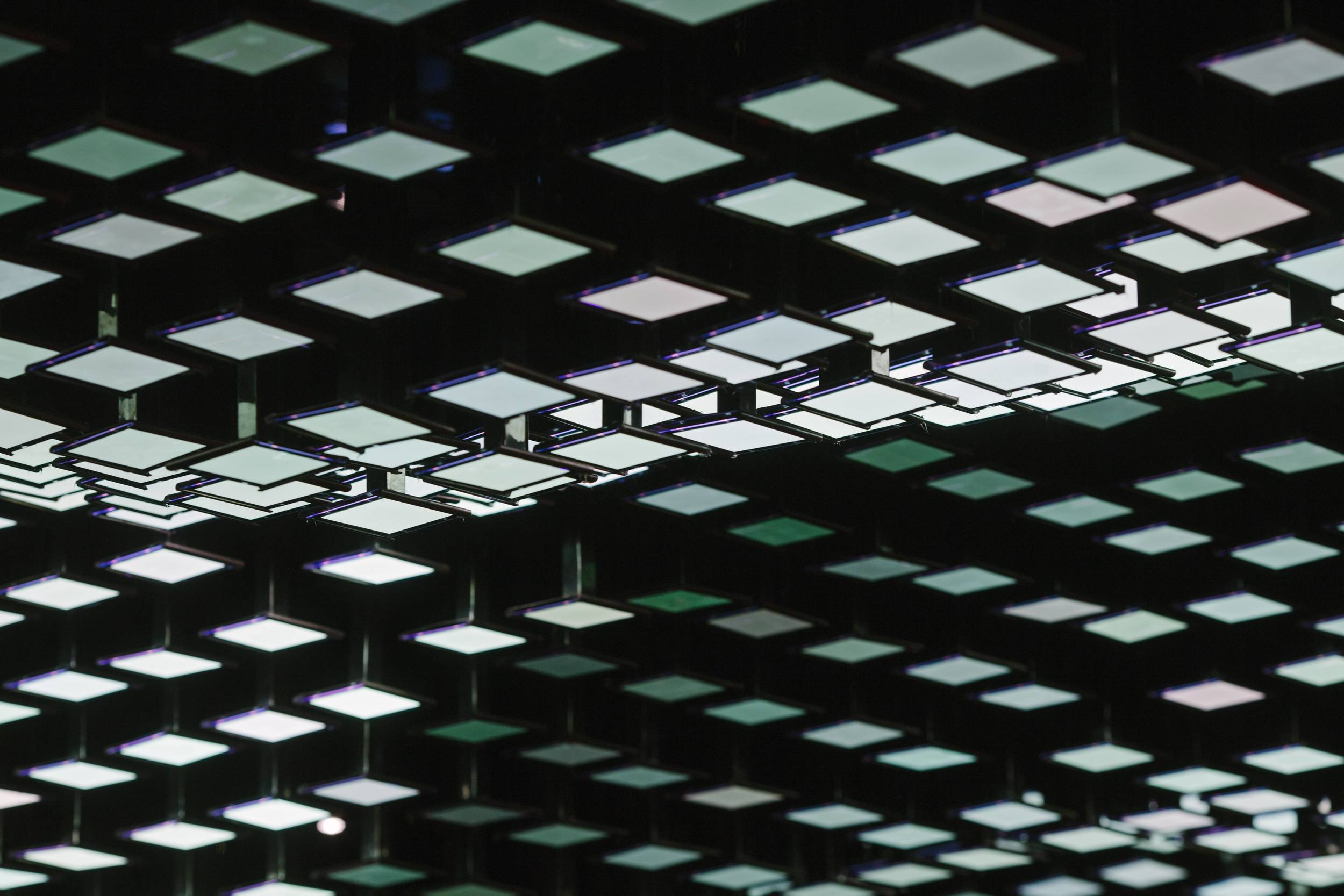 Interactive oled ceiling