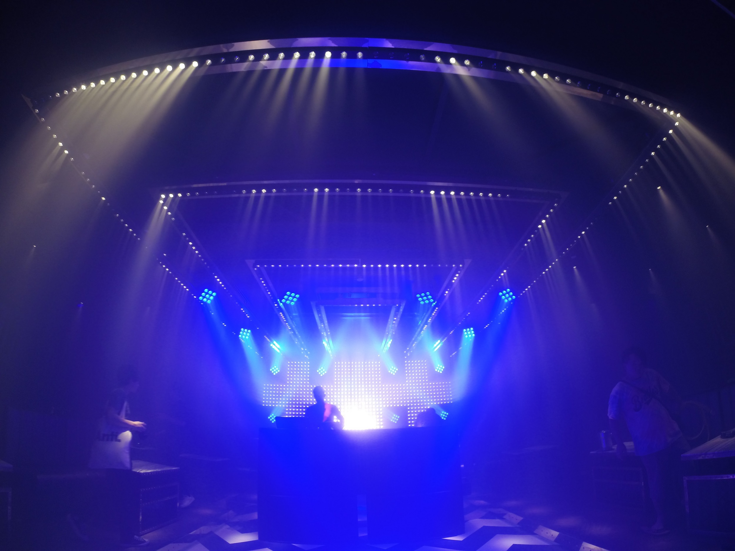 Club lighting design