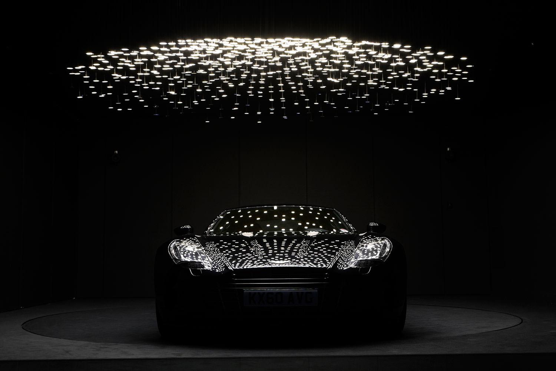 custom oled Aston martin lighting