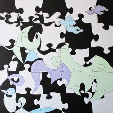 Puzzle en Haut,  Lorraine Benton