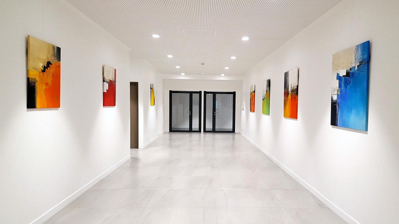 Contemporary Abstract Art Exhibition