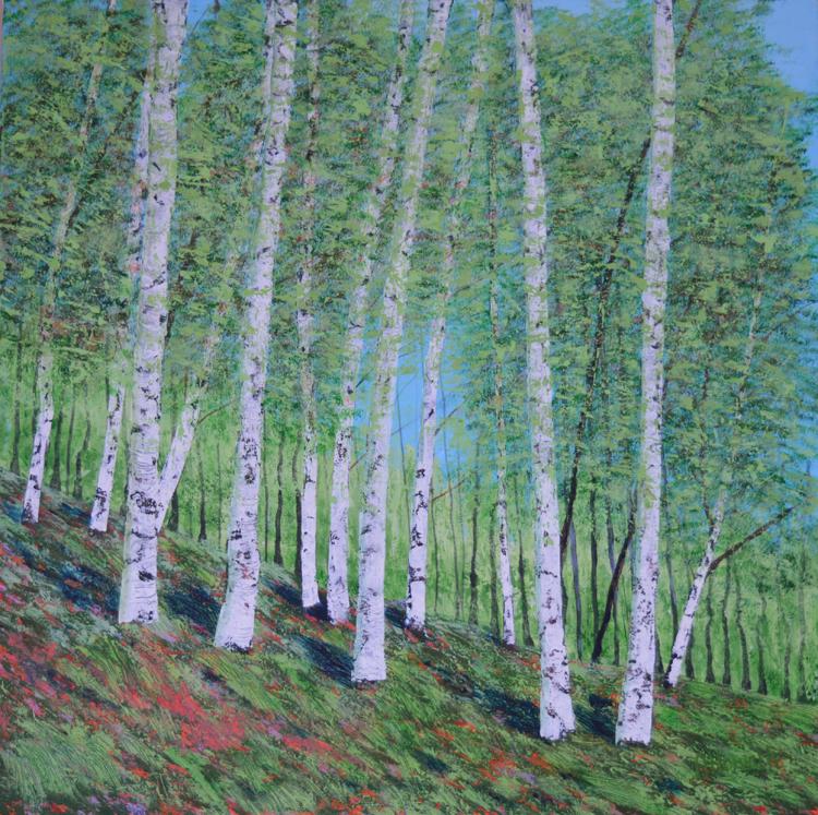 Amanda Horvath 'Whispering Trees'  £550.00