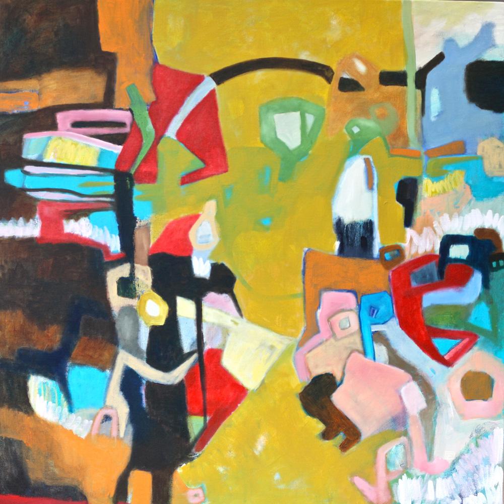 'A Walk in a Rest'  by Jasmine Farrow