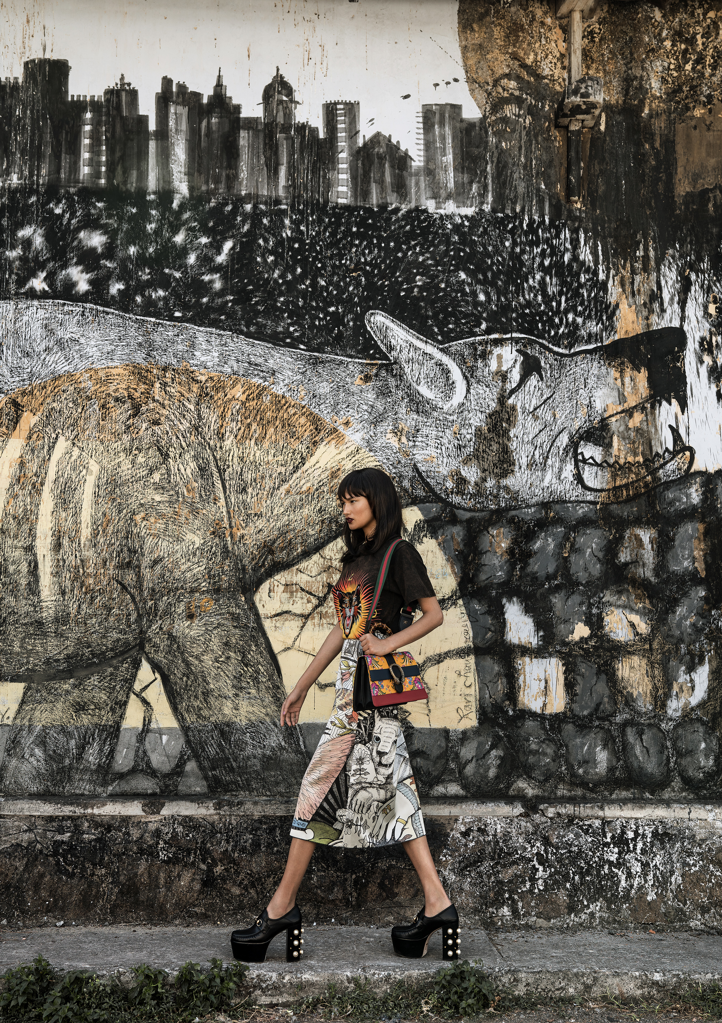 Varsha Tapha for Gucci - Fort Kochi, Kerala India