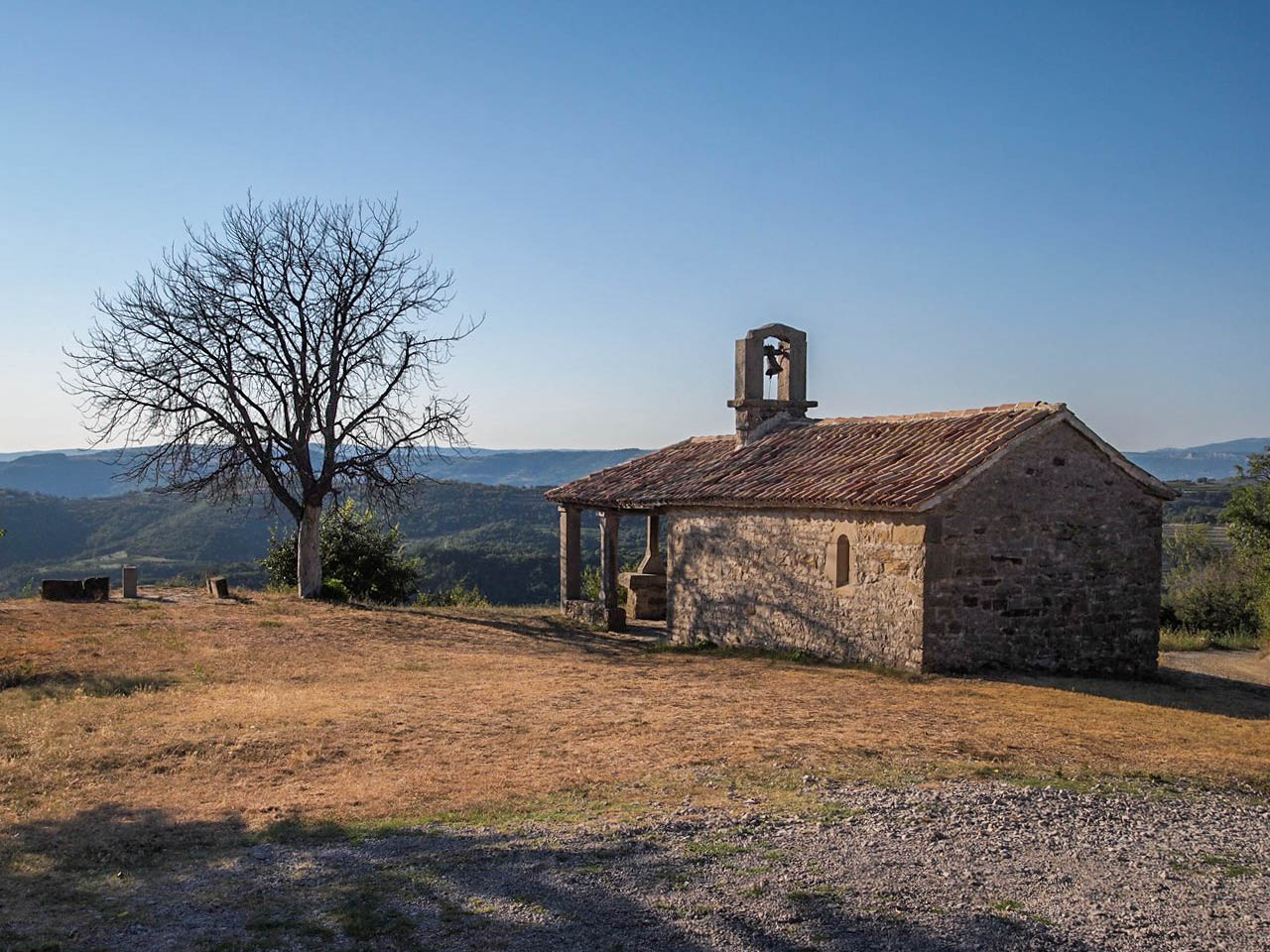 The chapel of St Rok, Draguc