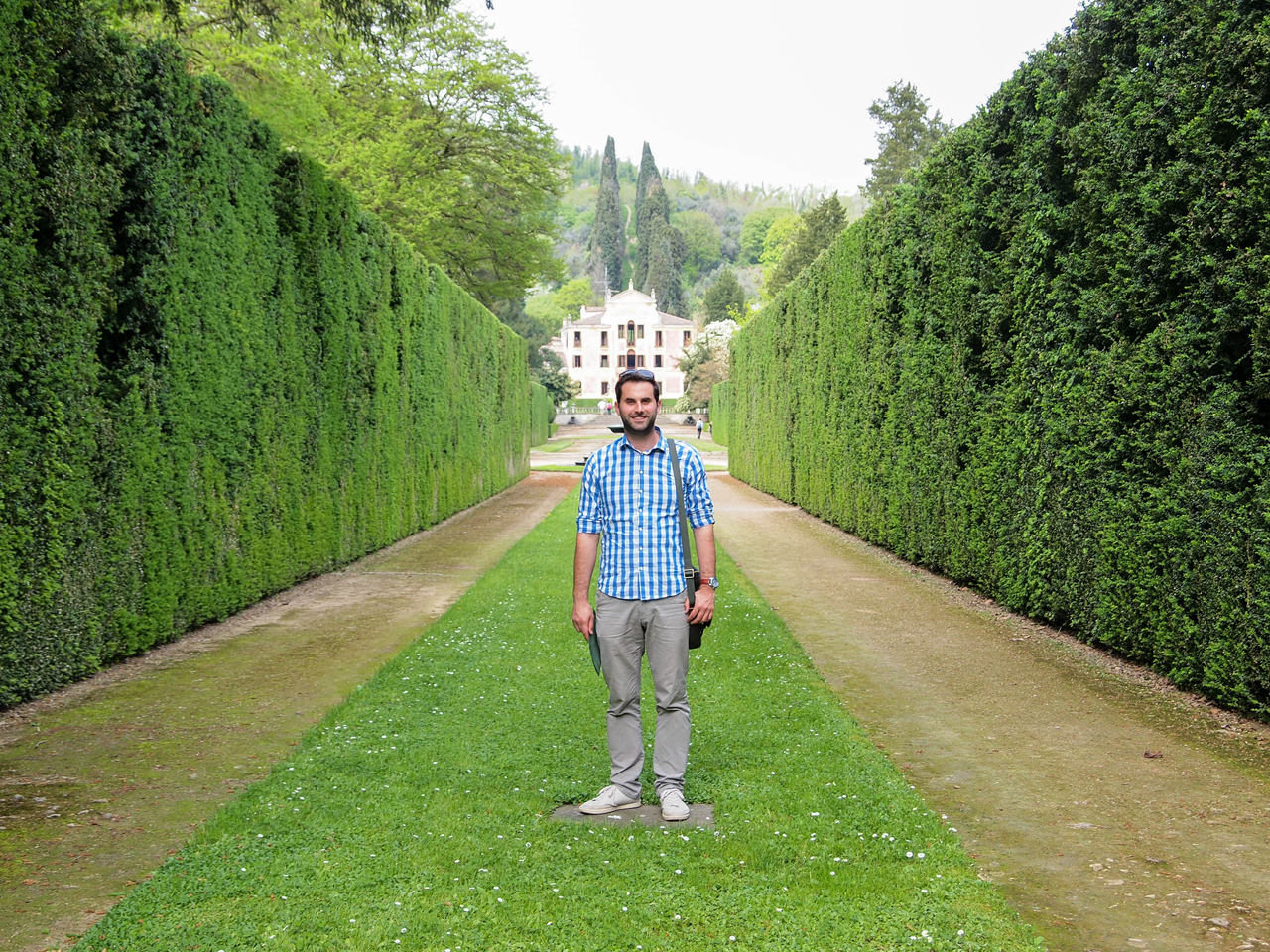 Amusing garden of Villa Barbarigo