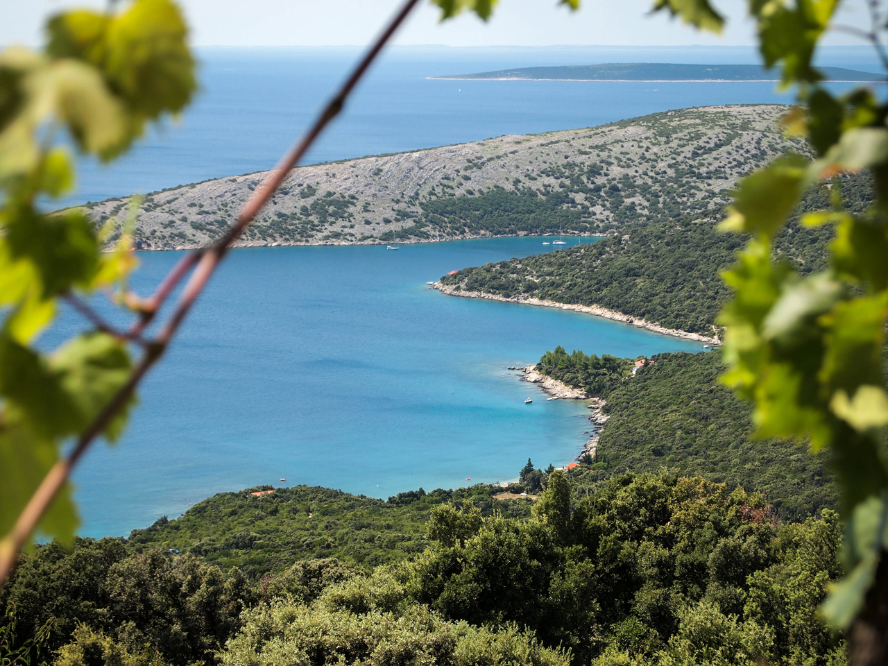 Stunning views on the island of Cres