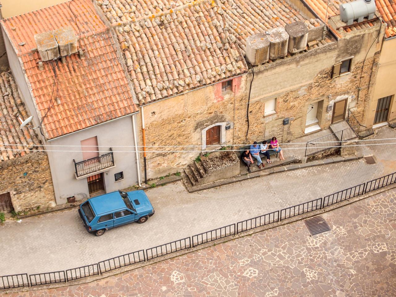 Street scene in Sperlinga