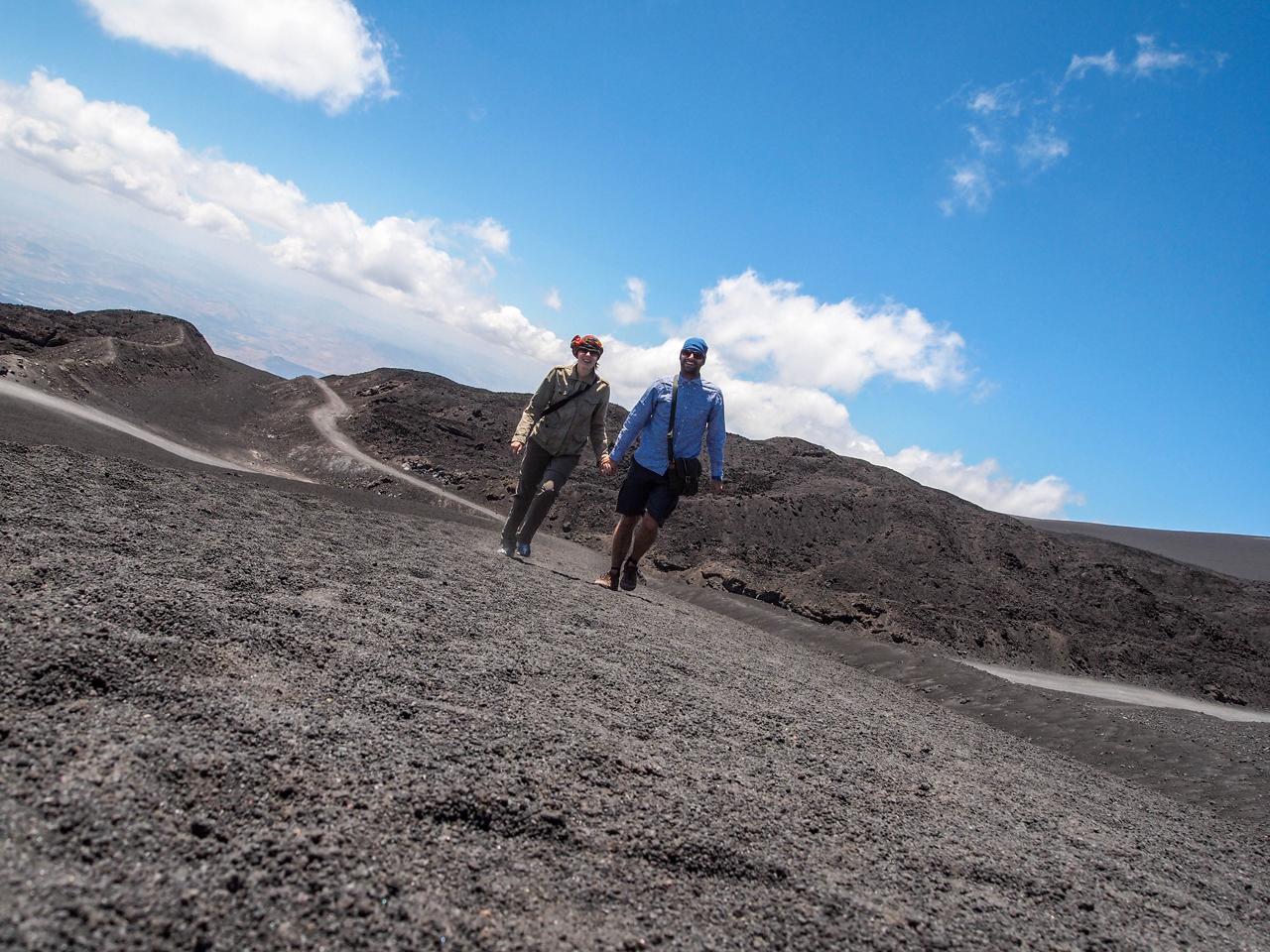 Mount Etna Selfie!