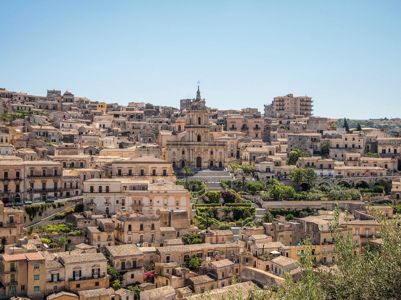Beautiful view of Modica