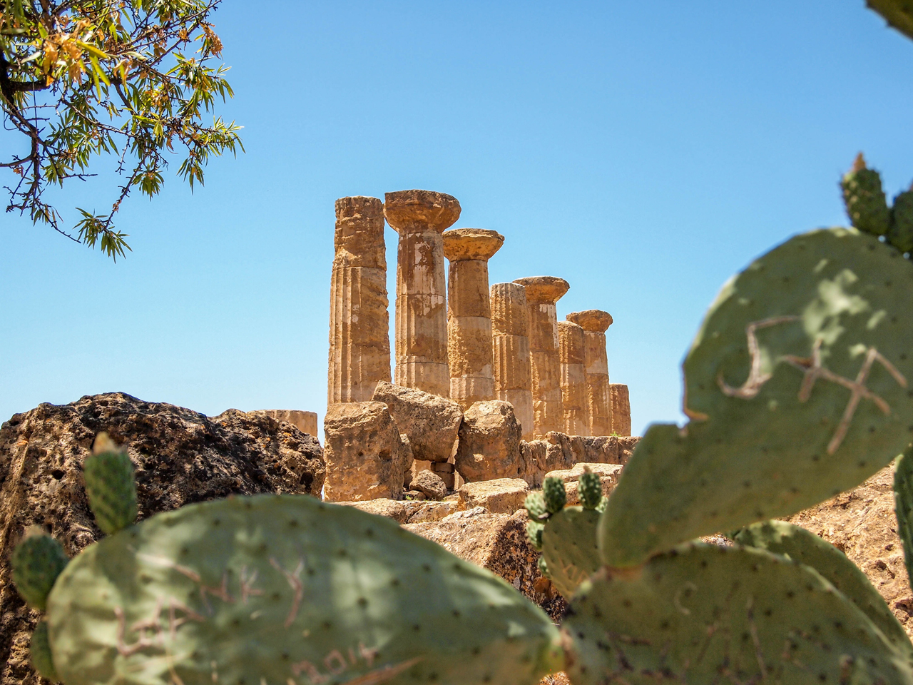 Temple of Hercules in Agrigento