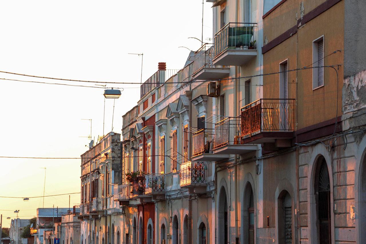 Trani-streets