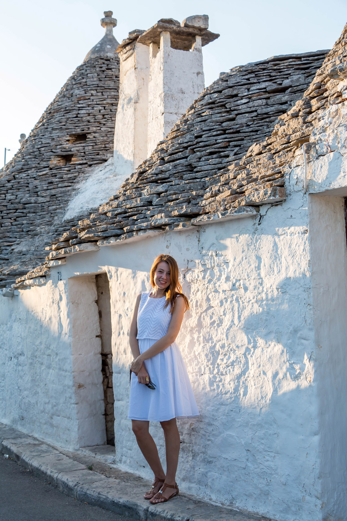 Summer in Alberobello, Italy