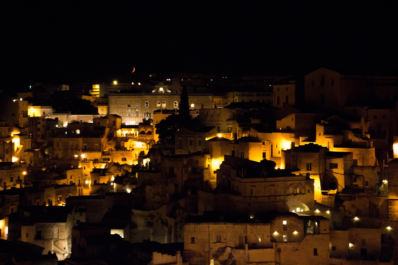 Matera-by-night
