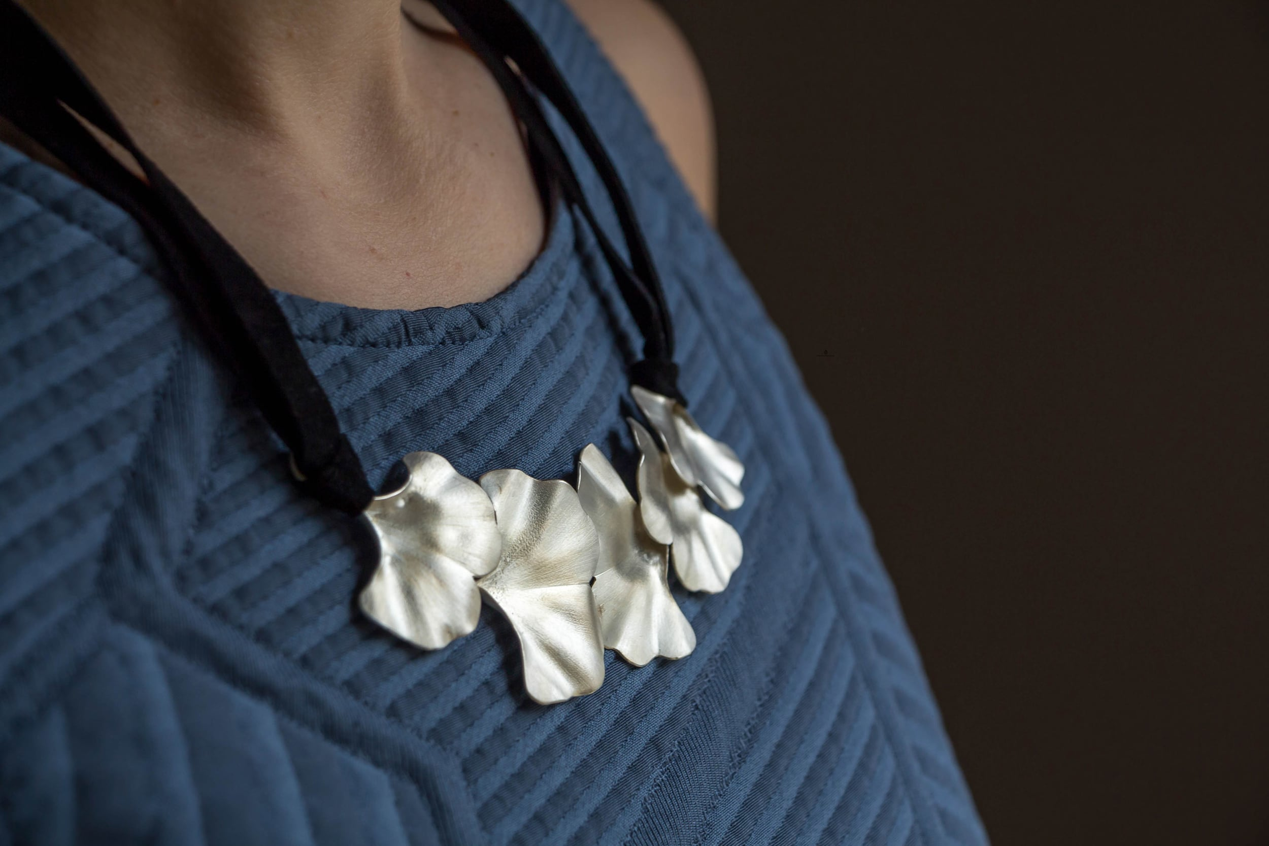 Ginkgo-necklace