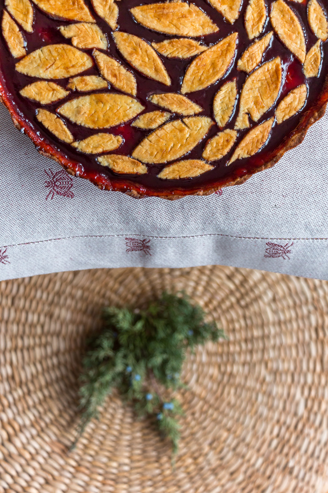 My take on Crostata di marmellata for mom's birthday