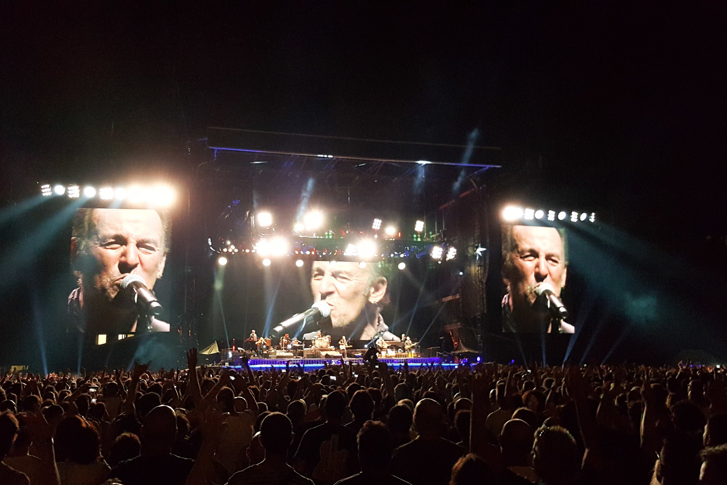 Bruce Springsteen concert in Milano
