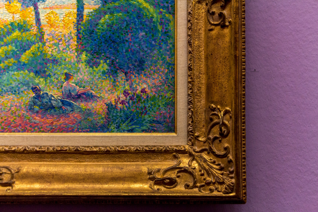 Henri Edmond Cross: Provence Landscape, Ways of Pointillism exhibition