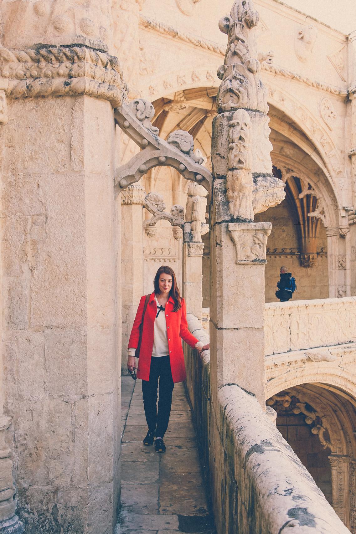 In Jeronimos monastery, Lisbon