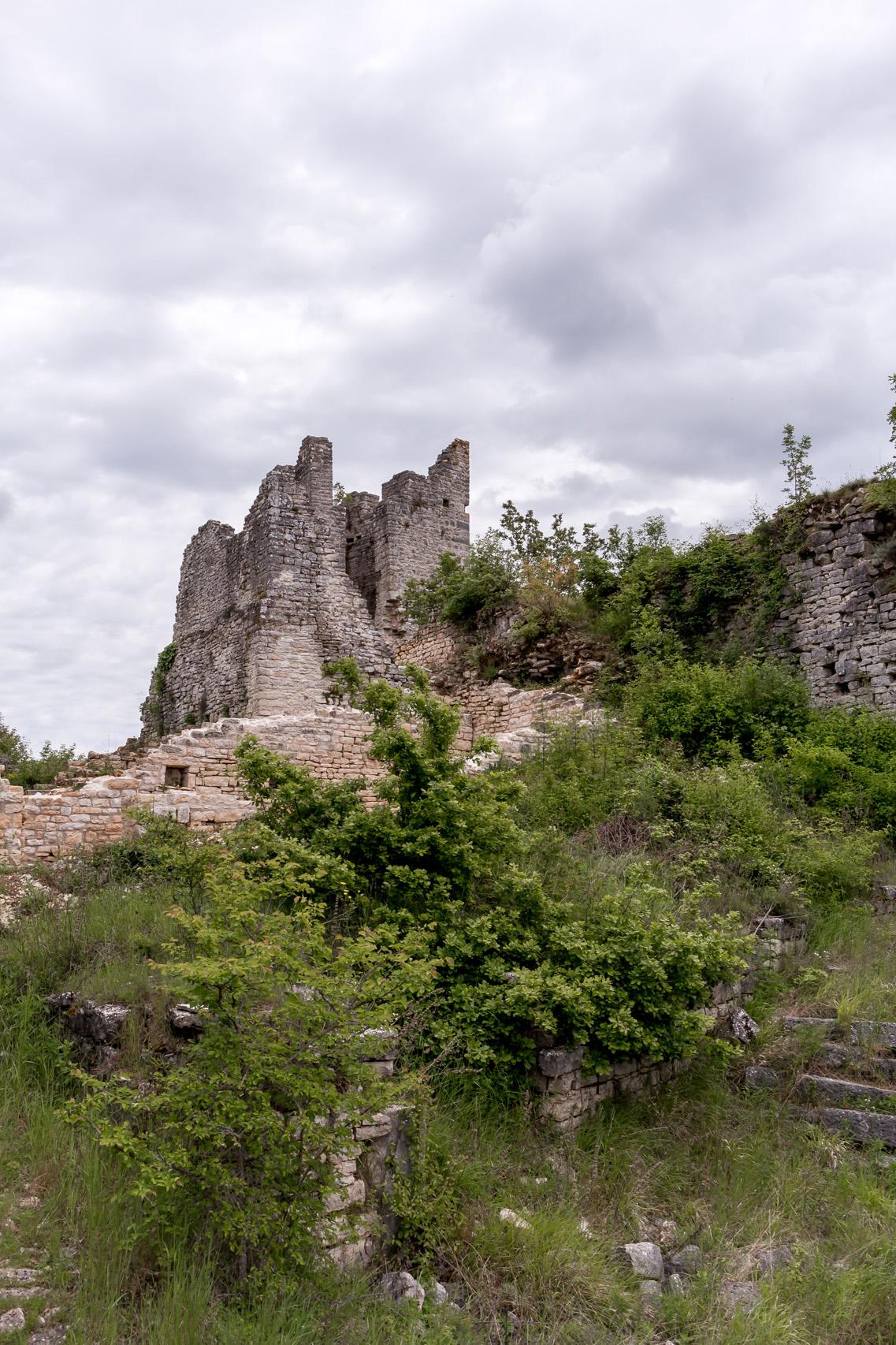 Dvigrad-ruins