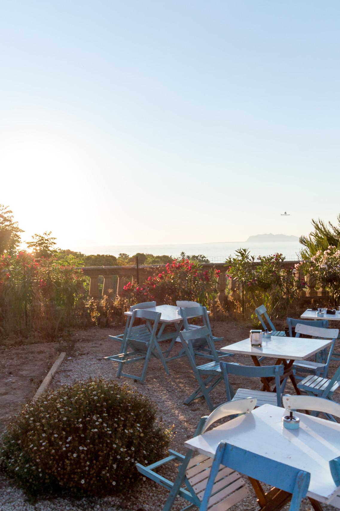 Marsala, views from Villa Cavalotti park