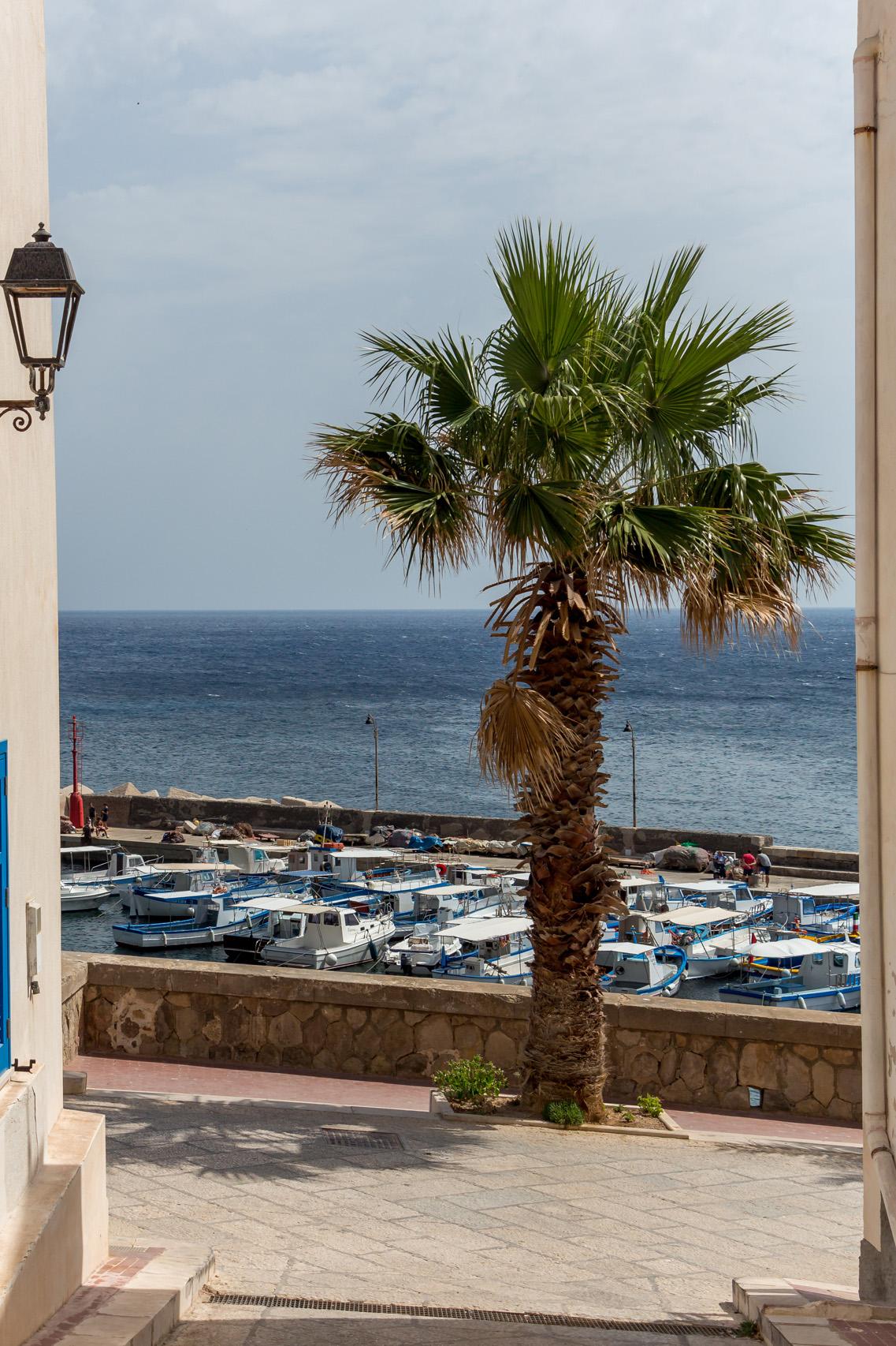 The island of Marettimo, Sicily