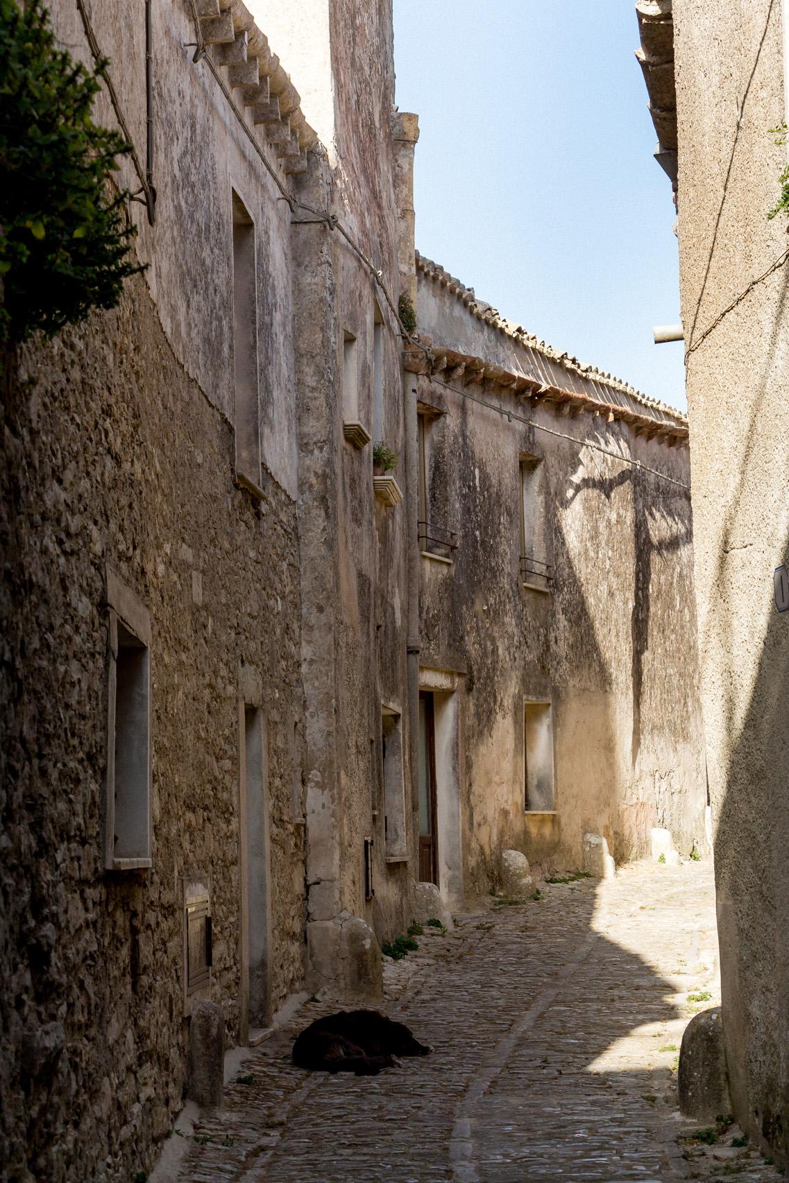 Streets of Erice, Sicily