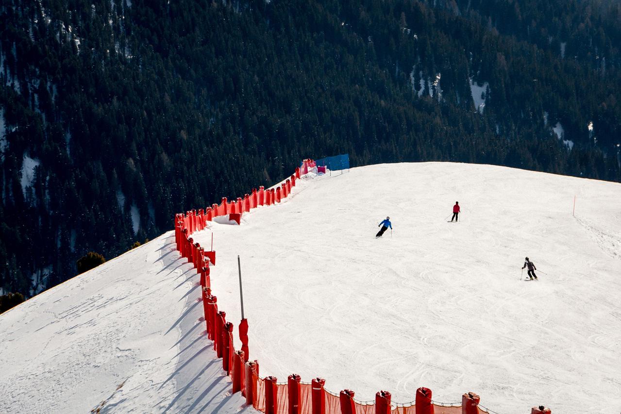 Fassa-skiing