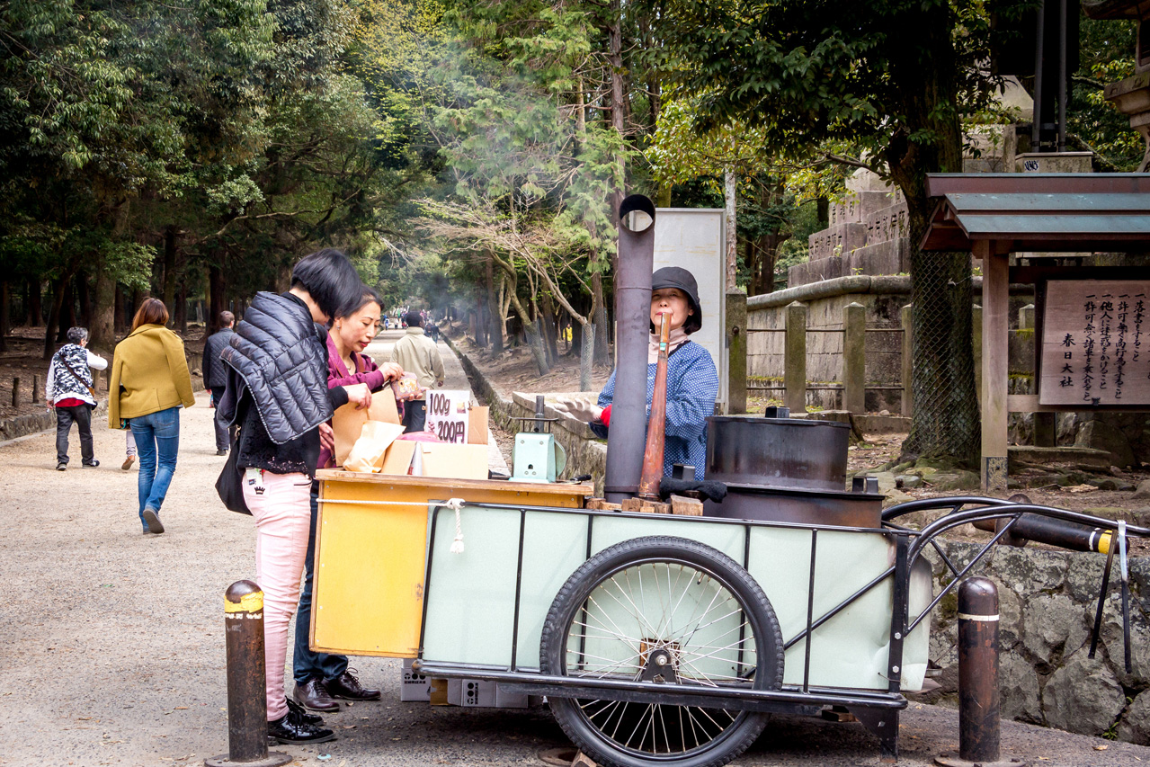 Nara-street-vendor