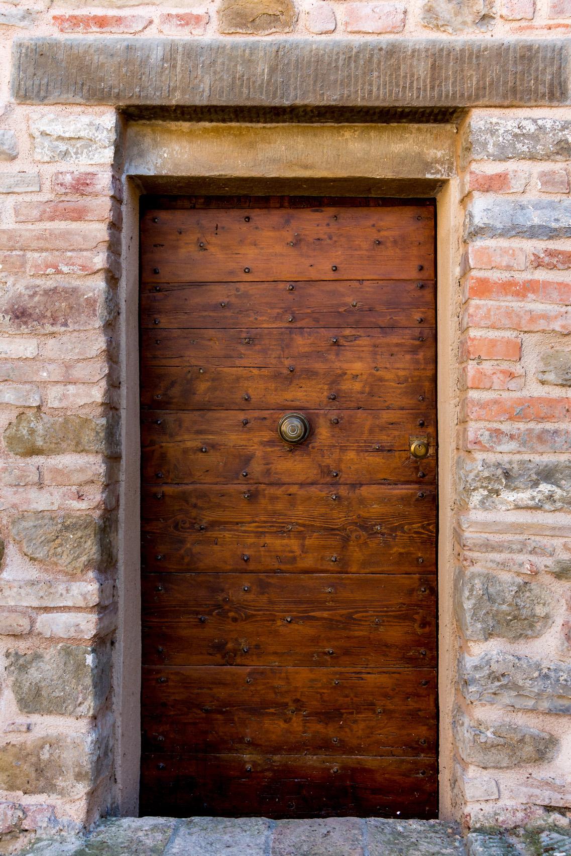 Doors of Monte del Lago, Umbria