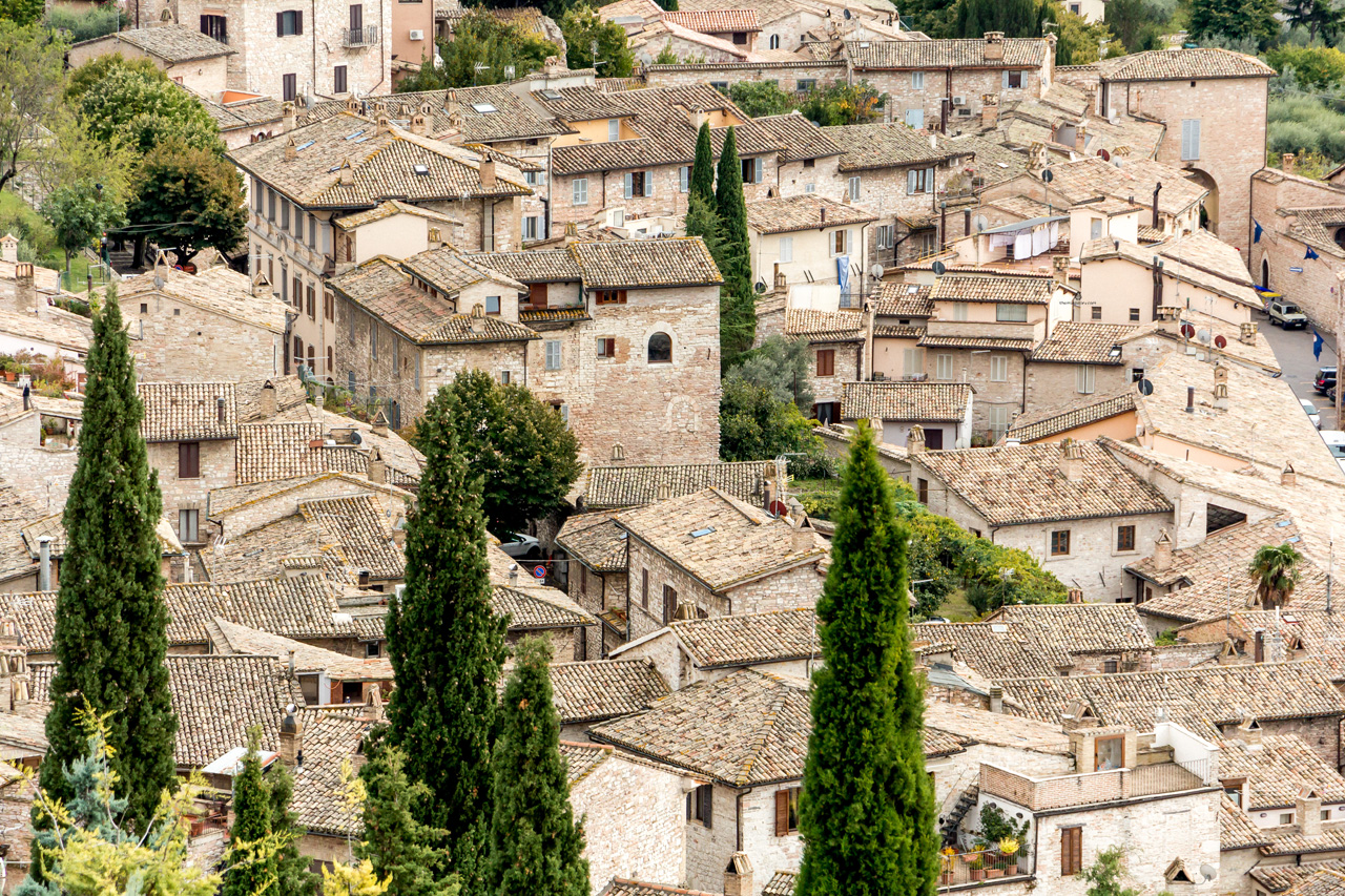 Views of Assisi, Umbria