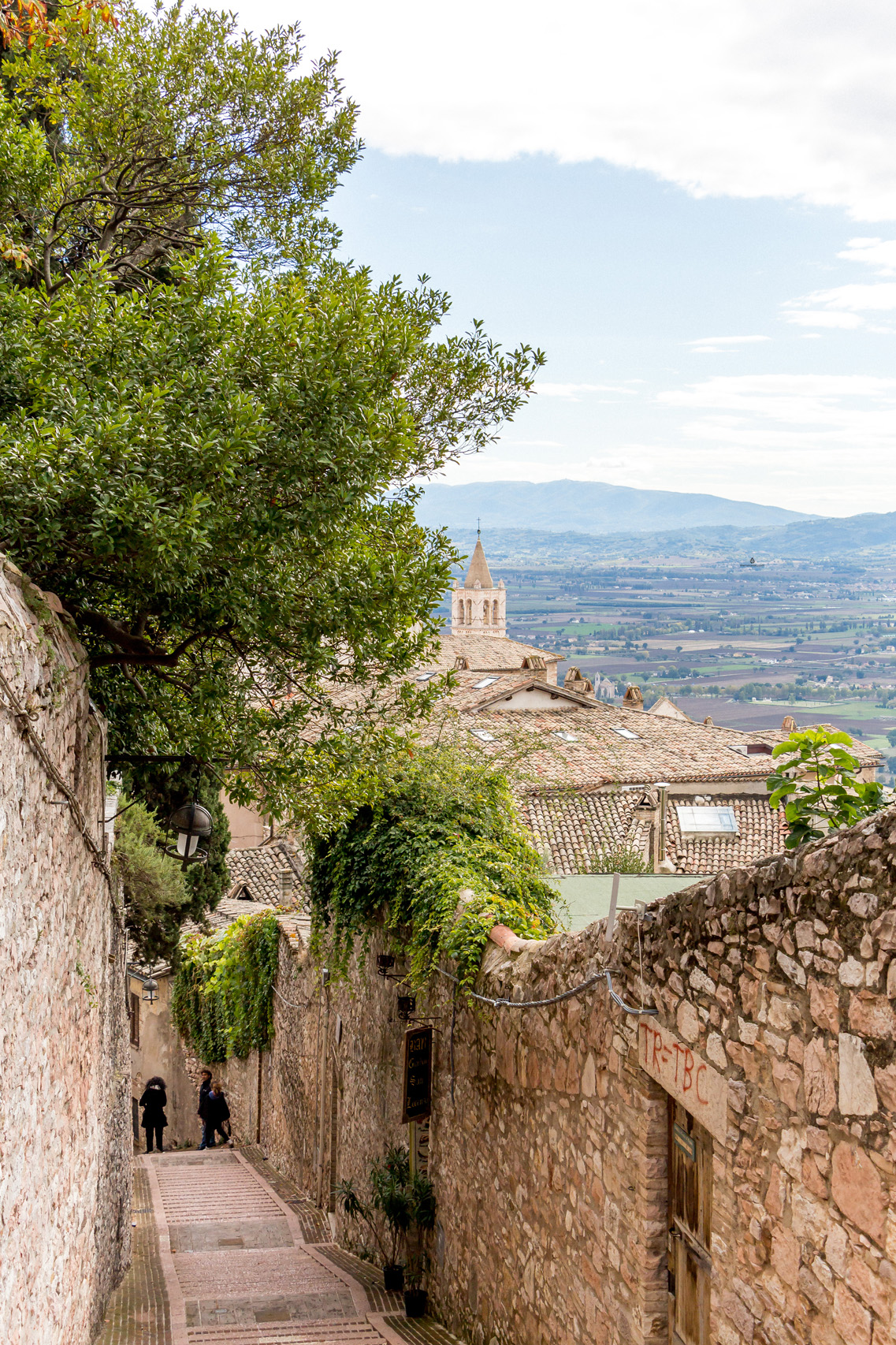 Streets of Assisi, Umbria