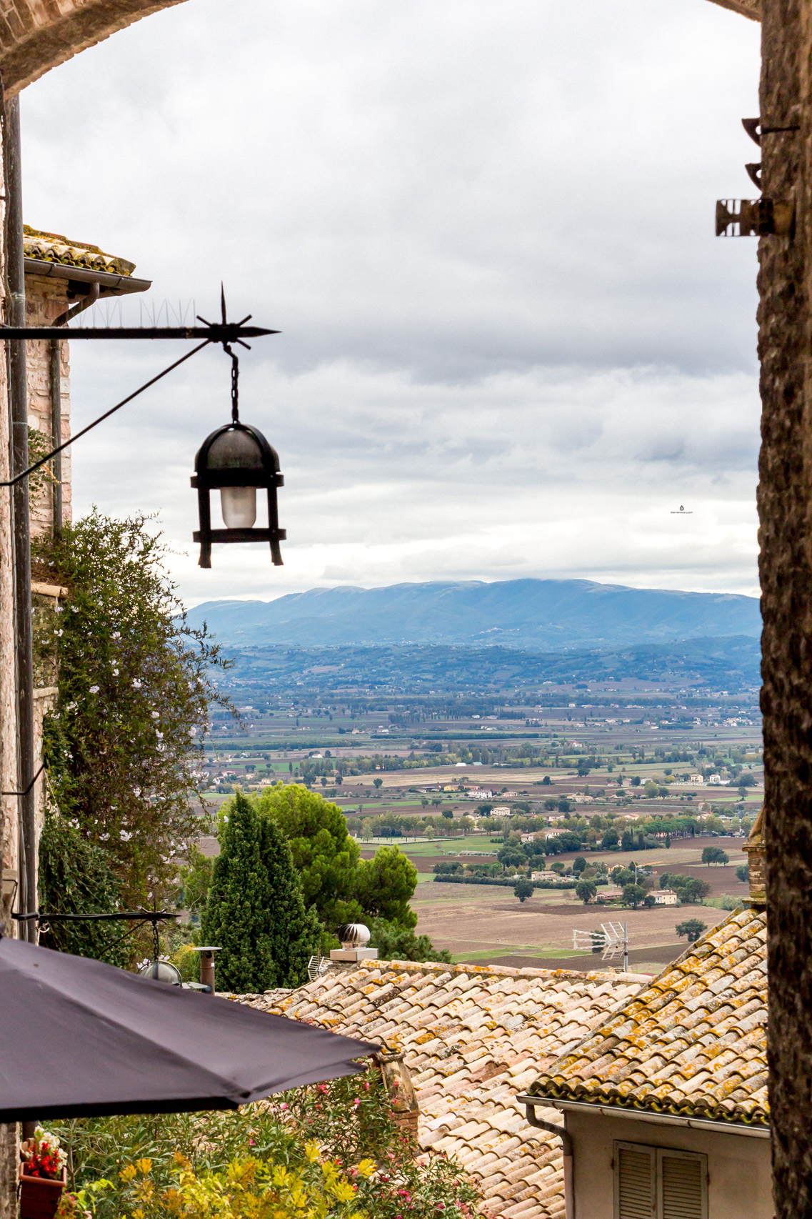 Views from Assisi, Umbria