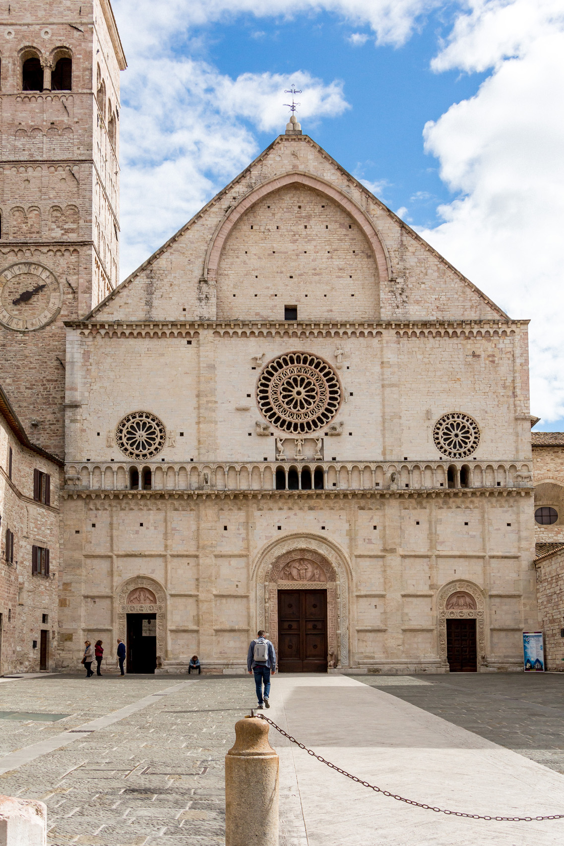 Assisi, San Rufino Cathedral