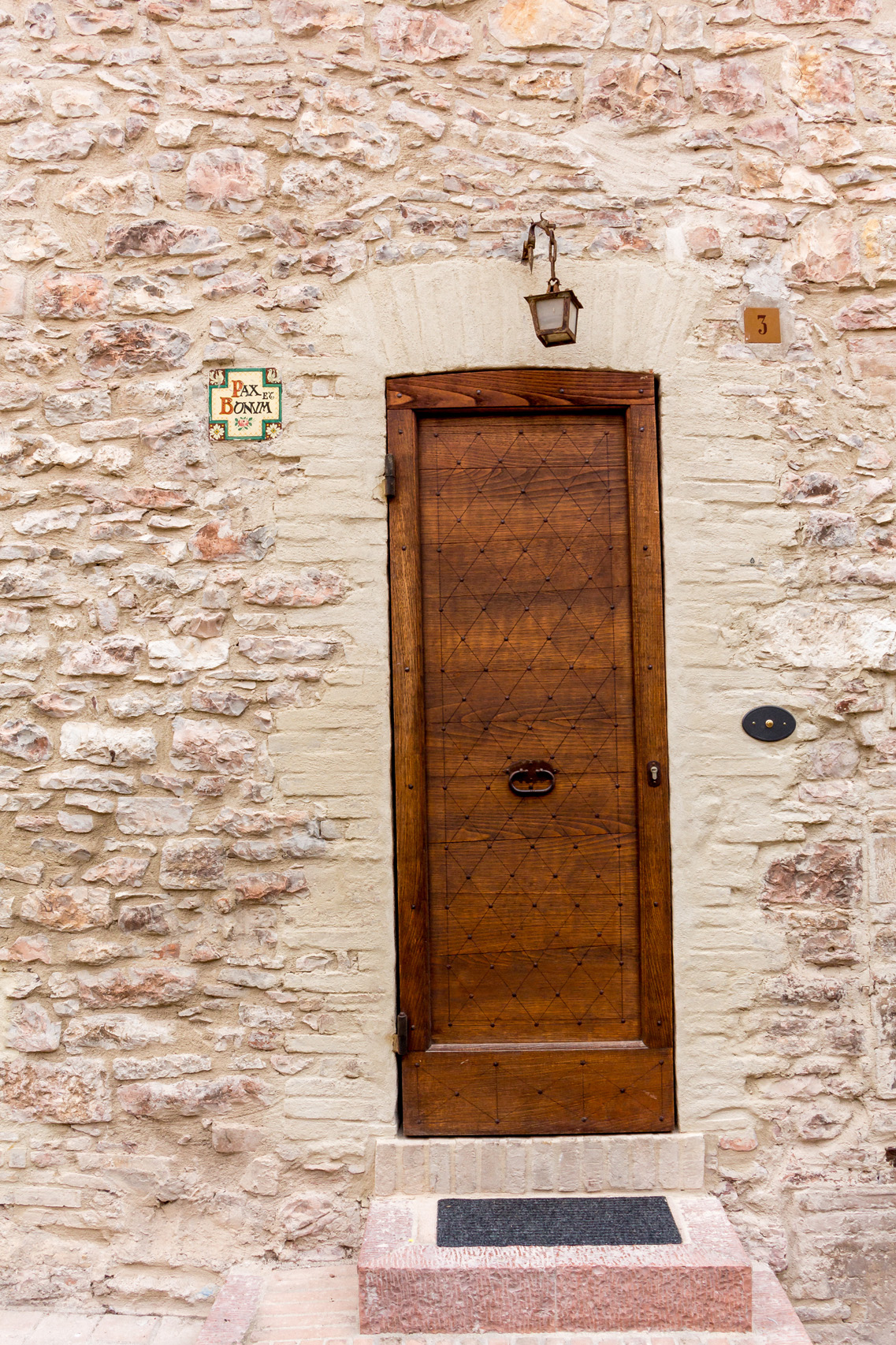 The doors of Assisi, Umbria