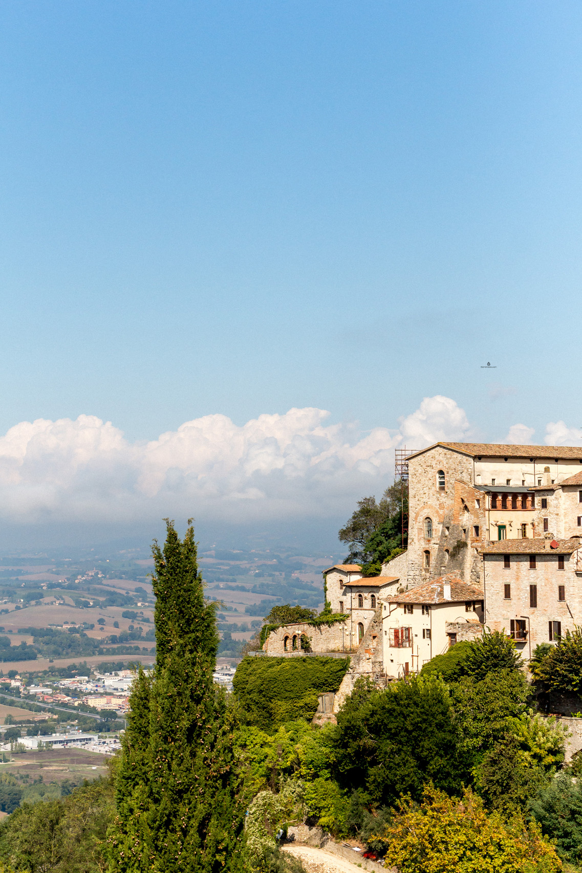 The town of Todi, Italy