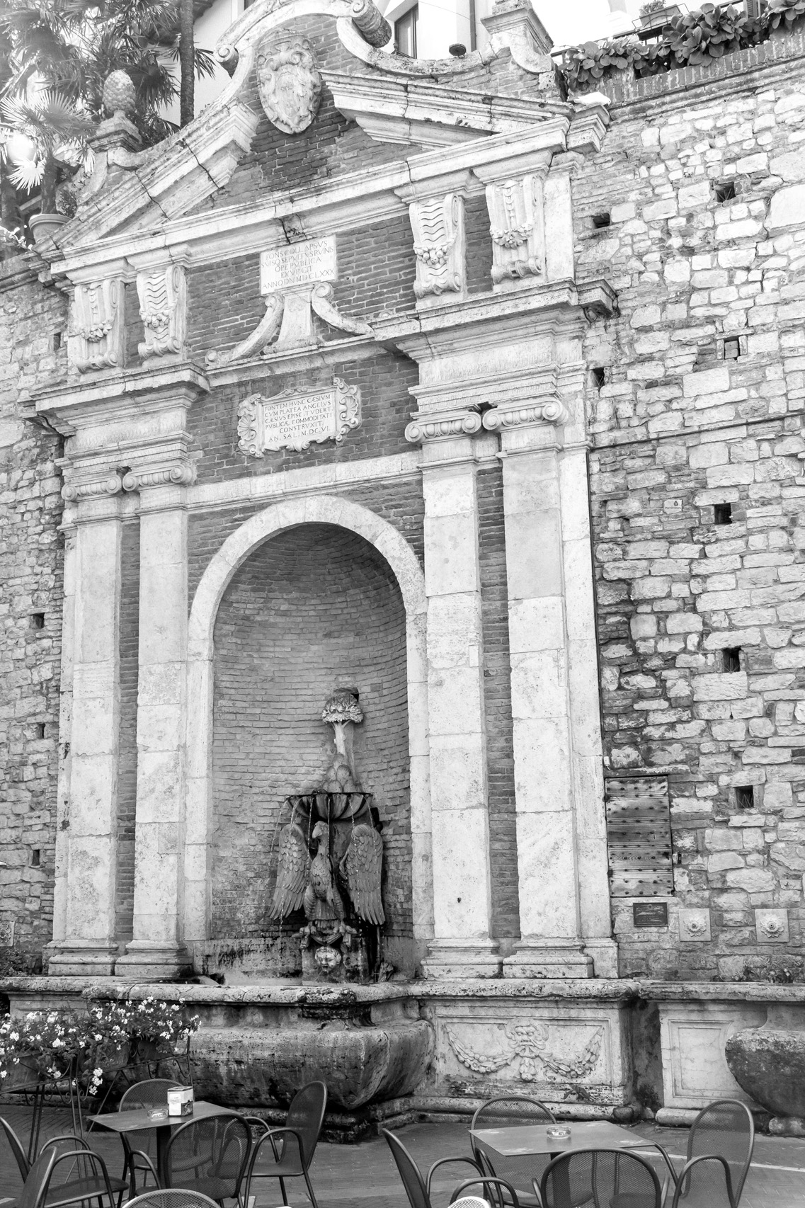 The town of Todi, Umbria