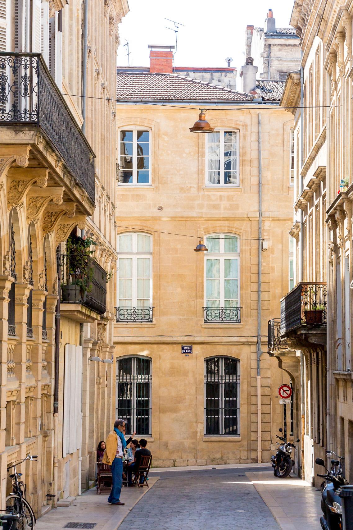On the street, Bordeaux