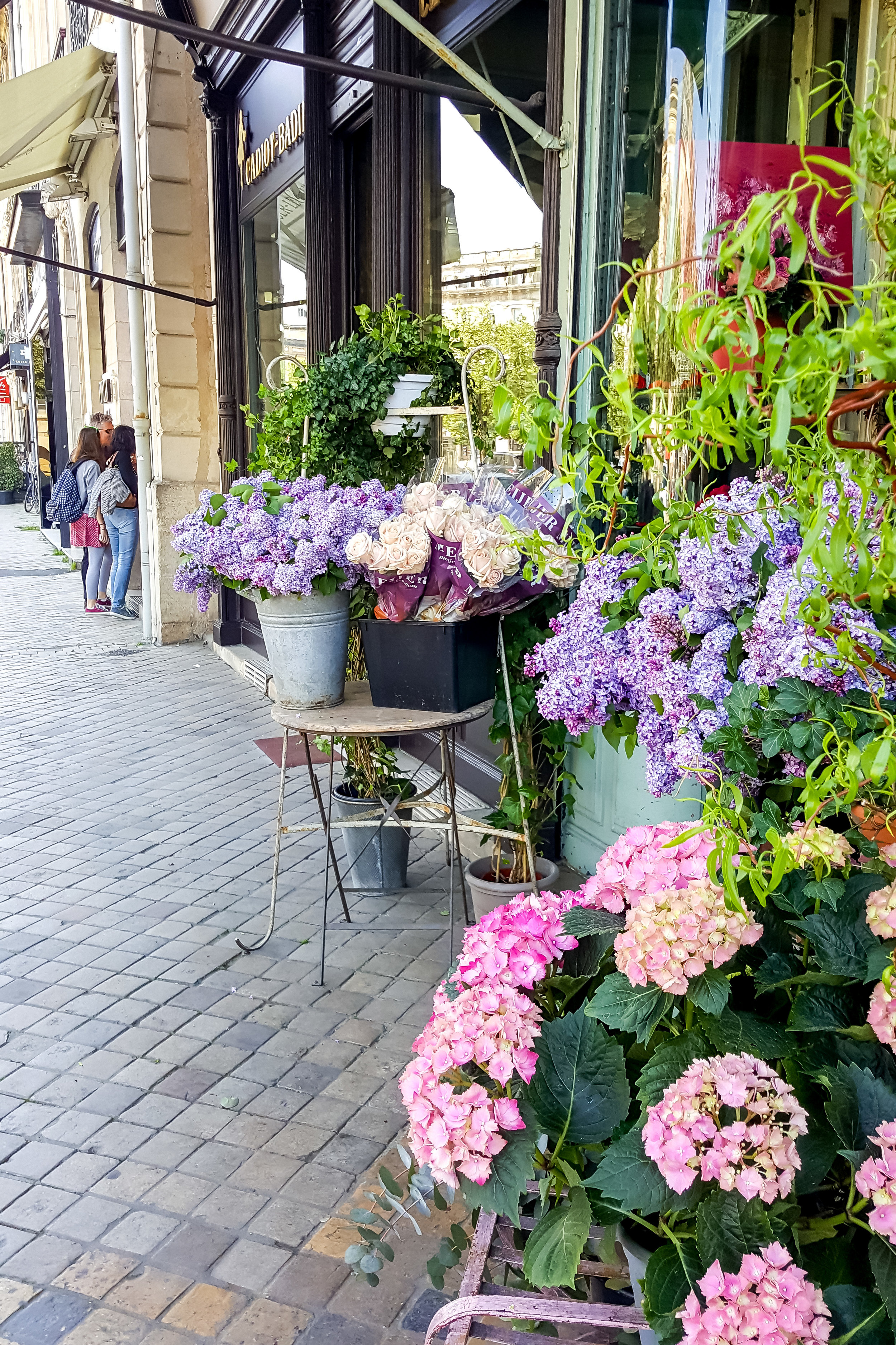 Flower shop in Bordeaux