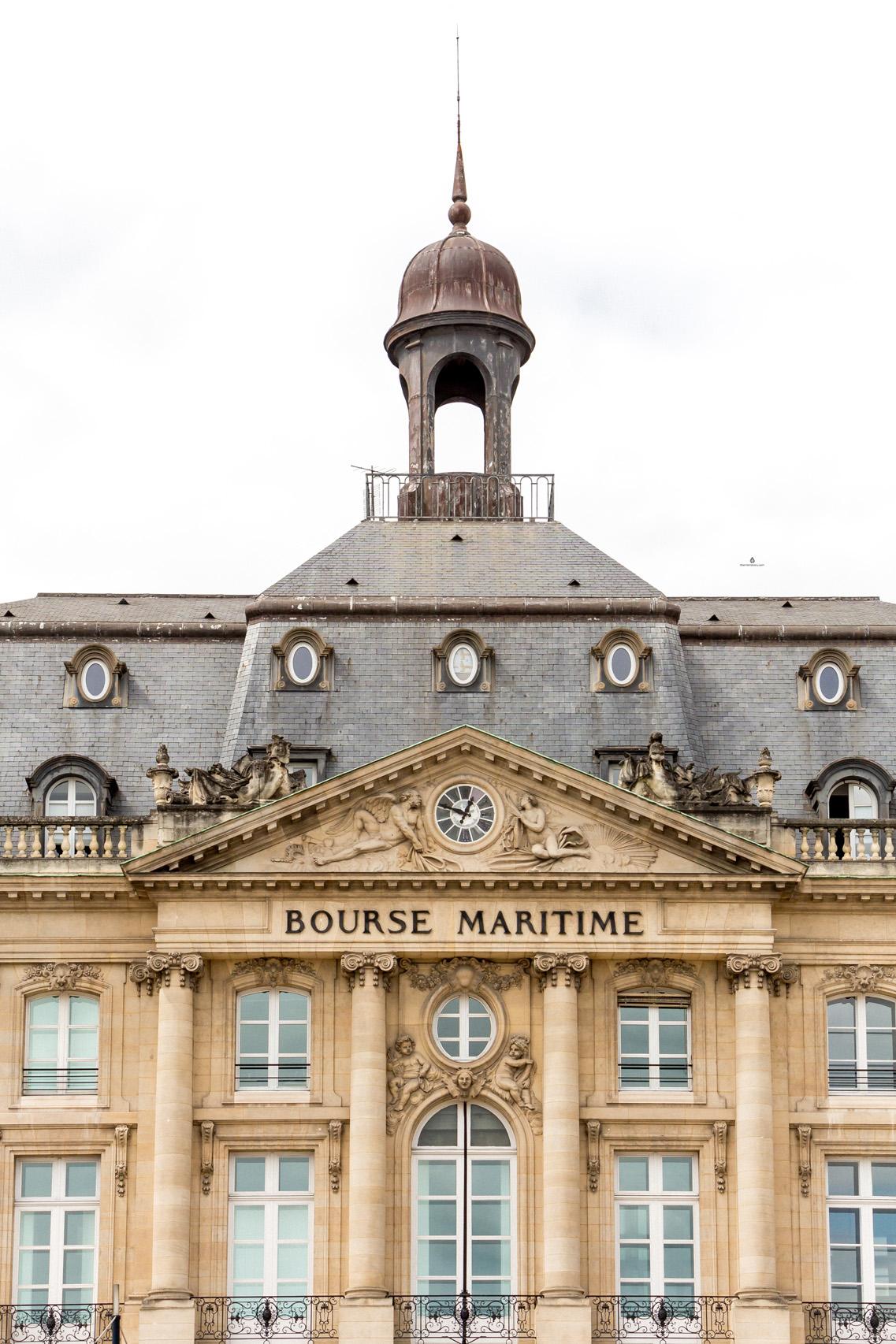 Bourse Maritime, Bordeaux