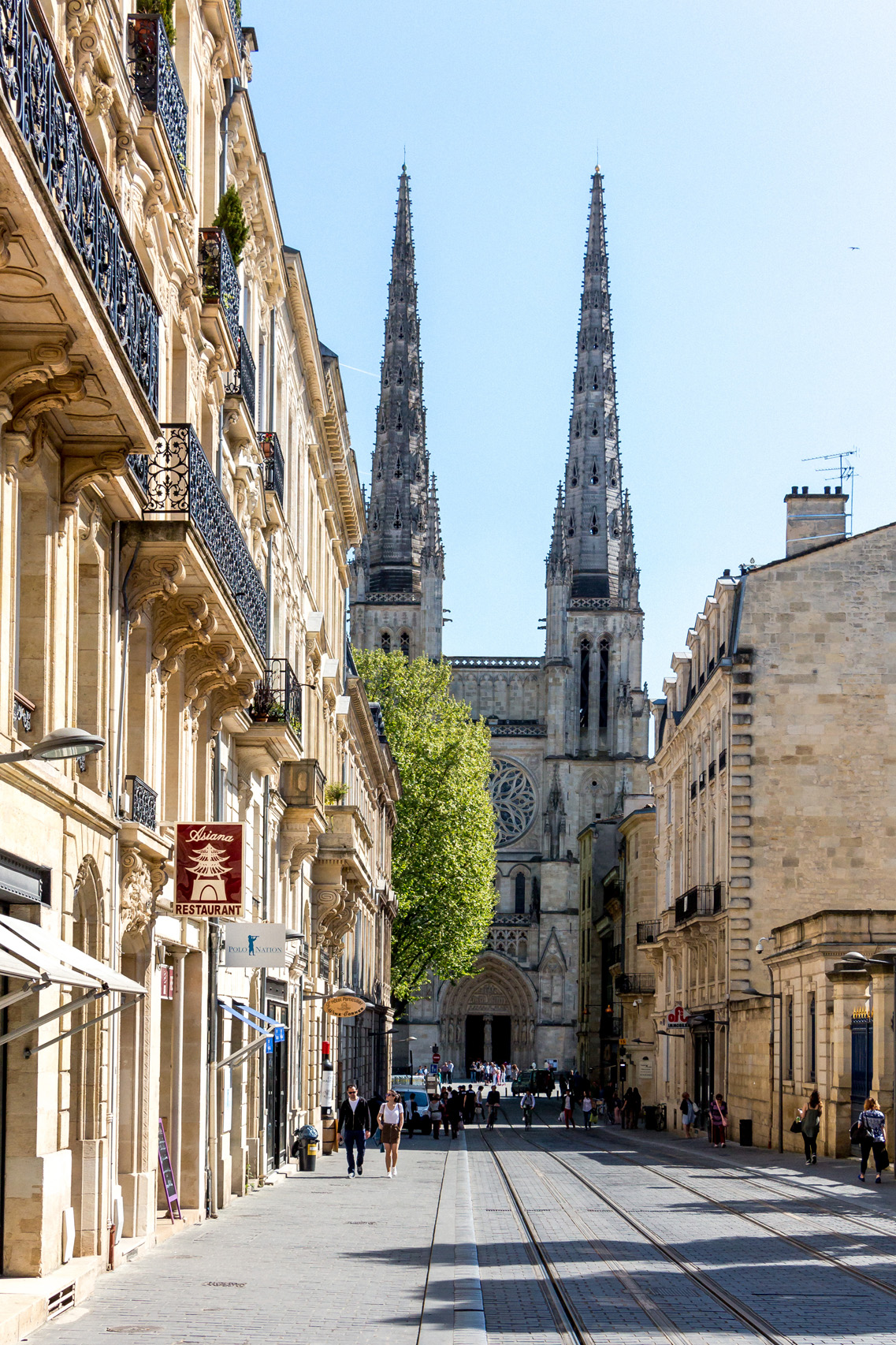 Saint Andre Cathedral in Bordeaux